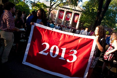 Although the highly successful addition of a freshman convocation the afternoon before classes began drew the most fanfare, Opening Days 2009 also featured several other additions for the Class of 2013.