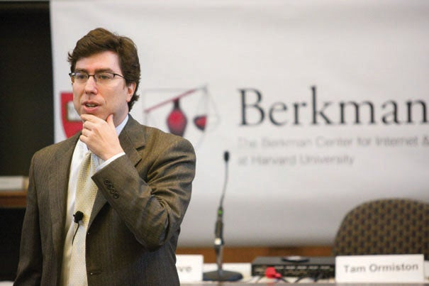 "Berkman Center co-founder Jonathan Zittrain: ""Integration with the CRCS program is a major milestone along the Berkman Center's transition into its new status as a University-wide initiative."""