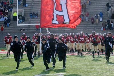 Harvard will take the field Sept. 19 against Holy Cross.