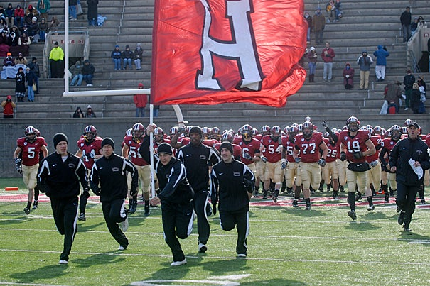Harvard will take the field Sept. 19 against Holy Cross.
