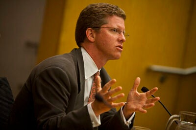 U.S. Secretary for Housing and Urban Development Shaun Donovan '87 said his time at Harvard strongly influenced his decision to devote his life to service.