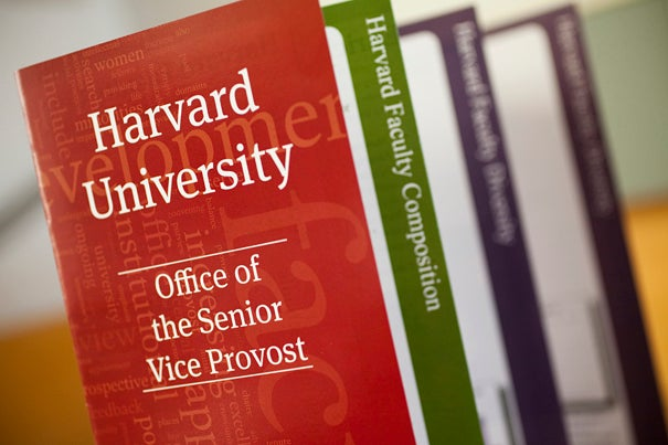 Harvard University's Office of the Senior Vice Provost released the Faculty Development and Diversity Annual Report, which reflects an increase in women and minority faculty.