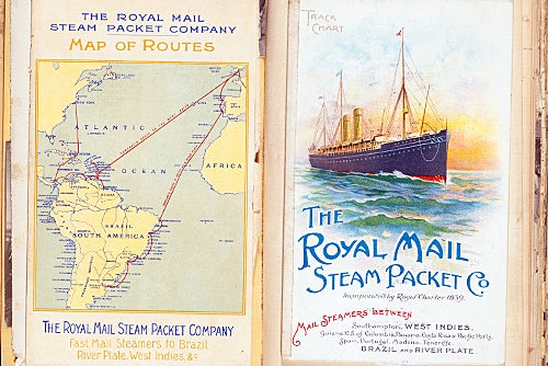 Royal Mail Steam Packet Co. brochure, 1906