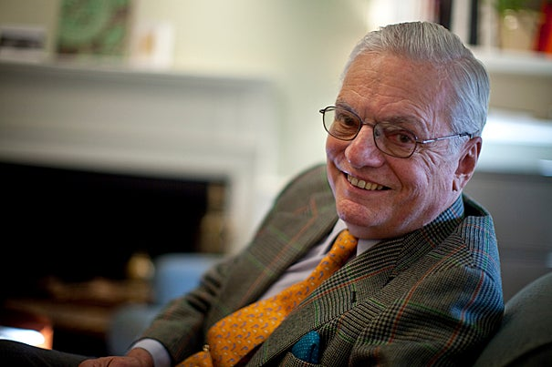 James R. Houghton, the longest-serving member of the Harvard Corporation, announced his plans to step down at the end of the 2009-10 academic year.