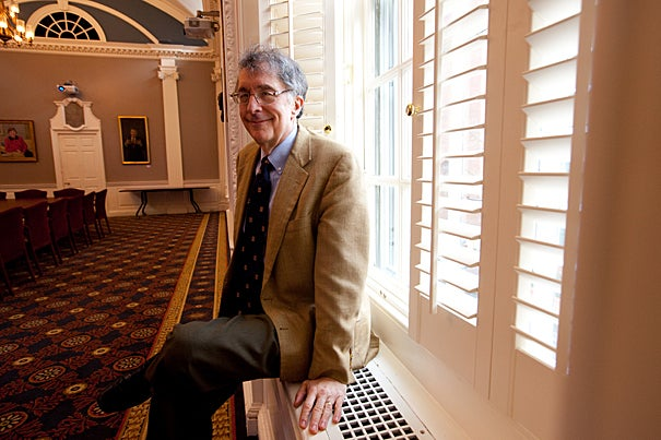 "Harvard Graduate School of Education Professor Howard Gardner reflected on his famous theory ― in which he posits that all humans possess numerous autonomous intelligences rather than a single intelligence that can be measured through a tool such as the IQ test ― at an Askwith Forum called ""Multiple Intelligences: The First 25 Years."" His theory made Gardner one of the most famous academics in the world."