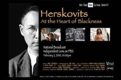 """PBS """"Herskovits at the Heart of Blackness"""" will air on Feb. 2 at 10:30 p.m."""