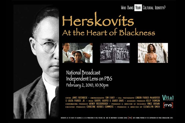 "PBS ""Herskovits at the Heart of Blackness"" will air on Feb. 2 at 10:30 p.m."