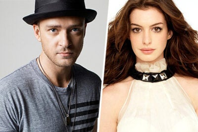 Justin Timberlake and Anne Hathaway have been chosen by Hasty Pudding Theatricals as Man and Woman of the Year. Hathaway is honored on Jan. 28 and Timberlake lands in Harvard Square on Feb. 5.