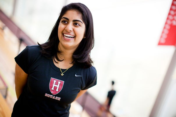 A member of the Harvard women's squash teamrecounts the squad's combination training and service trip to India during winter break, and how team members were changed in the process.