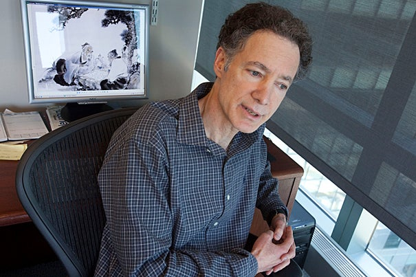 Since only humans experience the severe age-related decline in mental abilities marked by Alzheimer's disease, Harvard Medical School Professor Bruce Yankner believes evolution is to blame.