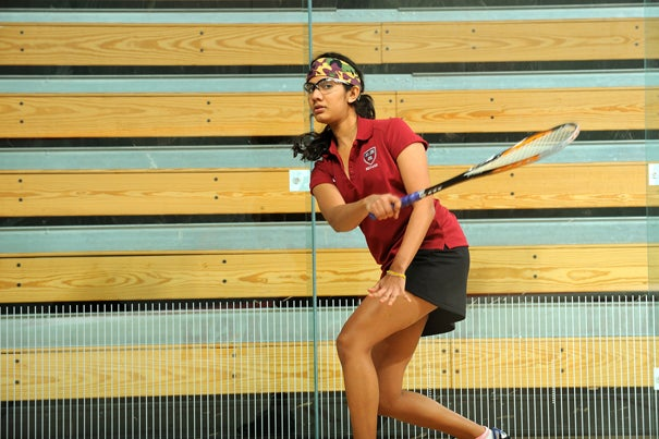 Nirasha Guruge '12 and the Crimson top Yale, 7-2.