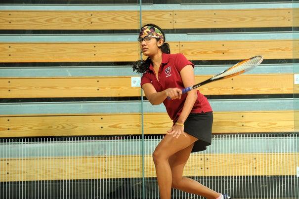 Nirasha Guruge '12 and the Crimson top Yale, 7-2.