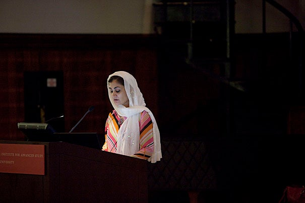 Pakistani journalist, activist, and current Radcliffe Fellow Humaira Shahid says that from 70 to 90 percent of women in Pakistan are subjected to some kind of domestic violence. Since January, Shahid has traveled to Washington, D.C., three times to argue for the passage of the International Violence Against Women Act.