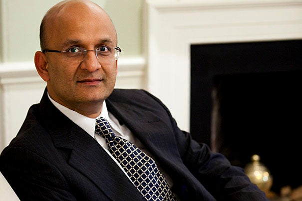 Nitin Nohria, Richard P. Chapman Professor of Business Administration, has been named the dean of  Harvard Business School.