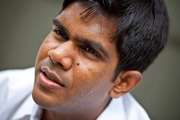 Lahiru Jayatilaka grew up in Sri Lanka, the son of an engineer and a lawyer, and was largely sheltered from the civil war raging between the government and the separatist Tamil Tigers. But at Harvard, he began to understand the repercussions of the conflict, which ended last year, and in particular the brutal legacy of land mines.