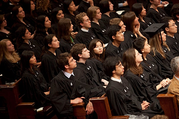 The Literary Exercises have been a Harvard tradition since the 18th century, and take place each year on Tuesday of Commencement Week. Harvard's Phi Beta Kappa chapter, called Alpha Iota of Massachusetts since 1995, is the oldest continuously running chapter in the United States.