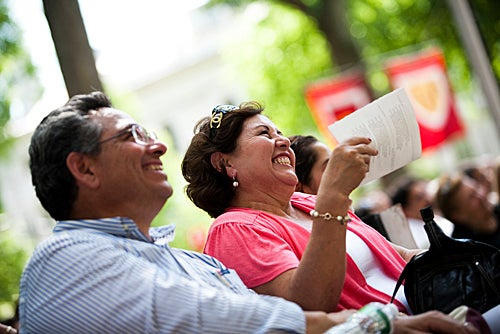 The lighter side