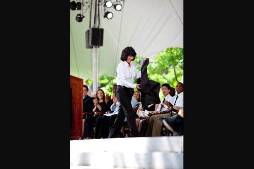 Temperature up, jacket off
