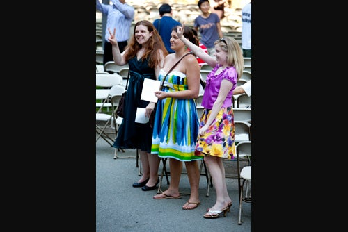 An audience request
