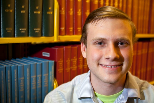 """In my own research, data from the COSMOS Survey, obtained by the powerful Keck telescope in Hawaii, allowed me to look back billions of years in time at the light and physical properties of AGNs as they existed when the journey of their light began,"" said Derek Robins '13 who interned this summer at the Center for Astrophysics."