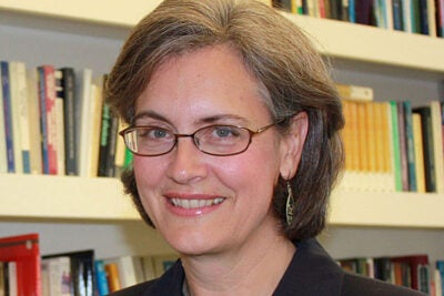 """I think it is a good signal that strict disciplinary lines are breaking down and open minds are prevailing in many scholarly societies,"" said Weatherhead Center Director Beth A. Simmons of her award-winning interdisciplinary book ""Mobilizing for Human Rights: International Law in Domestic Politics."" Simmons was one of three Harvard affiliates recognized by the American Political Science Association. Also recognized were Steven J. Kelman, the Albert J. Weatherhead III & Richard W. Weatherhead Professor of Public Management in the Kennedy School of Government, and Mikhail Pryadilnikov, associate of the Kathryn W. and Shelby Cullom Davis Center for Russian and Eurasian Studies."