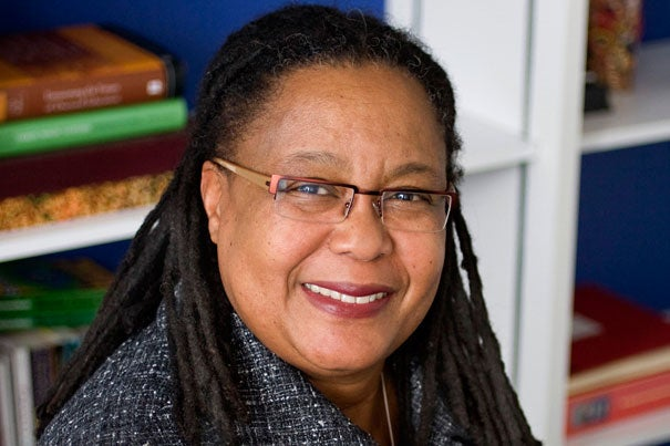 (Cambridge, MA -Tuesday, March 4, 2008)   Evelynn Hammonds, Dean of Harvard College and the Barbara Gutmann Rosenkrantz Professor of the History of Science and of African and African American Studies in the Faculty of Arts and Sciences  at Harvard University in Cambridge, Massachusetts   Staff Photo by Rose Lincoln/Harvard News Office