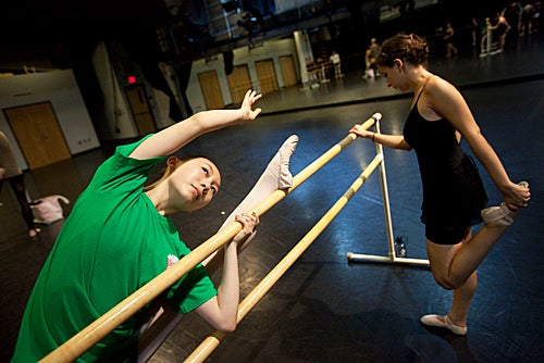 Taking the barre