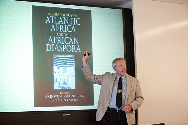 Christopher Fennell said that studies of enslaved Africans and their descendants should focus on such areas as the fields of Illinois, as well as the plantations of the South, the sunken wreckage of slave ships that made the horrific Middle Passage, and Africa's own history.