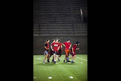 Rushing the field