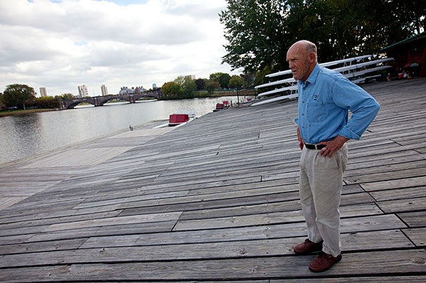 """The river was foul,"" said Harvard crew coach Harry Parker when describing the Charles upon his arrival in 1960. ""Now, it's wonderful."""