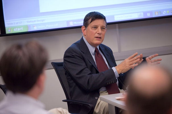 """David Dapice, chief economist for the Rajawali Foundation Institute for Asia's Vietnam Program at Harvard Kennedy School: """"I think there's fairly good reason to be worried with respect to the world's rice supply."""""""