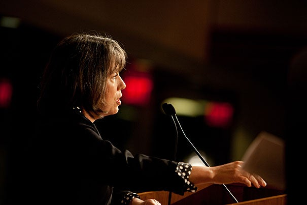 """""""It's safe to say the past couple of years have been the most significant period for U.S. economic policy since the 1930s, the most serious economic setback since the Great Depression,"""" said Sheila Bair, chairwoman of the Federal Deposit Insurance Corp., during the annual Glauber Lecture at the John F. Kennedy Jr. Forum."""