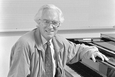 Reinhold Brinkmann taught in Harvard's Department of Music from 1985 until his retirement in 2003, serving as James Edward Ditson Professor of Music and department chair. He came to Harvard from Berlin, where he had been a professor at the Hochschule der Künste since 1980, and prior to that was professor of musicology at the University of Marburg. In 2001, he was the first musicologist to be awarded the prestigious Ernst von Siemens Music Prize.