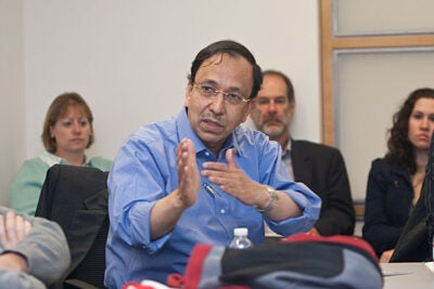 The acute phase of response has passed for Pakistan, but a solid commitment is needed if rebuilding is to be effective, said South Asia Initiative Director Sugata Bose.