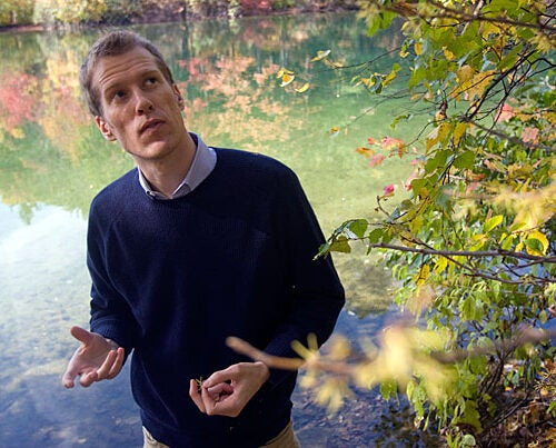 Charles Davis, assistant professor of organismic and evolutionary biology, says that for too long evolutionary biologists have sat on the sidelines as ecologists and other biologists have examined climate change for its impact on the Earth's living things.