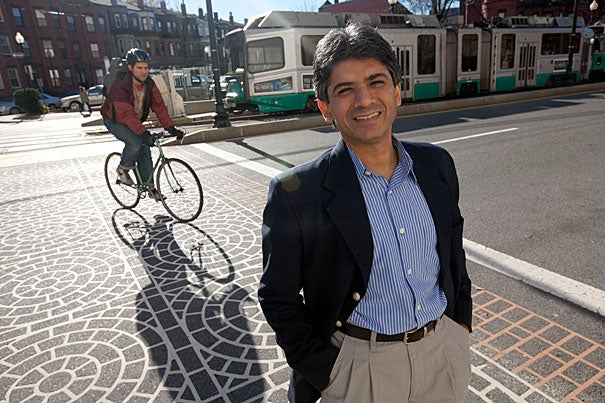 S.V. Subramanian, associate professor of society, human development, and health at the Harvard School of Public Health and a researcher at the Center for Population and Development Studies, has embarked on a study that will examine the link between health and location.