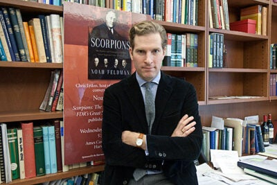 """I was amazed by the personal intensity with which the justices pursued their beliefs and views,"" said Noah Feldman, whose book ""Scorpions: The Battles and Triumphs of FDR's Great Supreme Court Justices"" chronicles the dealings between justices Felix Frankfurter, Hugo Black, Robert Jackson, and William O. Douglas."