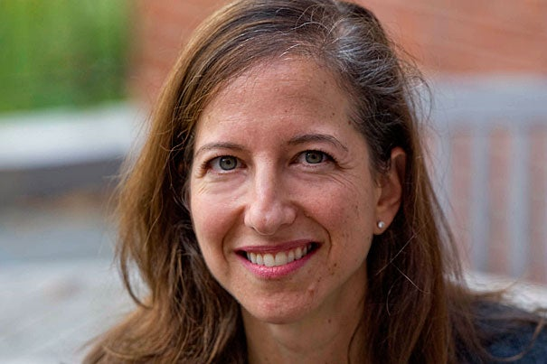"""""""The ideas, people, and events that propel the Radcliffe Institute are characterized by excellence and energy, and I'm honored to be part of the institute and help share its work in new and powerful ways,"""" said Alison Franklin."""