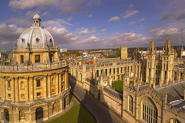 Rhodes Scholars will begin study next October at the University of Oxford in England.