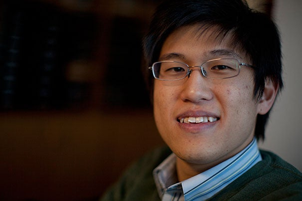 Brandon Seah '11 is giving a course on the art of overtone singing, just one of the many activities available during Harvard's inaugural Optional Winter Activities Week.