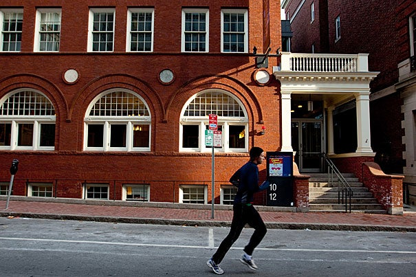 Harvard on the Move, which kicks off Jan. 26 with a panel discussion at Sanders Theatre, is a running and walking program designed for  students, faculty, staff, alumni, and neighbors in Cambridge, Boston, and the surrounding area. The program will include weekly runs and walks organized by the University.
