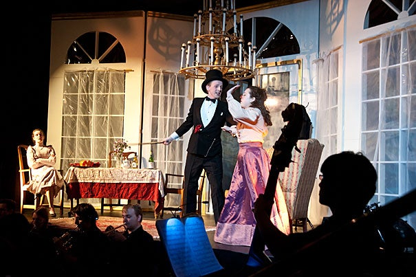 """The Dunster House Opera Society production of """"Die Fledermaus"""" takes the stage."""