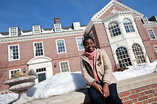Ekene Agu '13 is among the 60 or so Harvard undergraduates who have joined Sustained Dialogue, a program that brings together students from diverse backgrounds and experiences to discuss often-divisive topics such as race, class, gender, and sexuality.