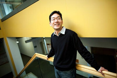 "Gordon McKay Professor of Electrical Engineering  Gu-Yeon Wei spent his boyhood tinkering, making plastic model robots, cars, and planes from kits so cheap they the cost the equivalent of an ice cream bar. ""I loved to pick one up and put it together,"" he said. ""And I never read the instruction manual."""
