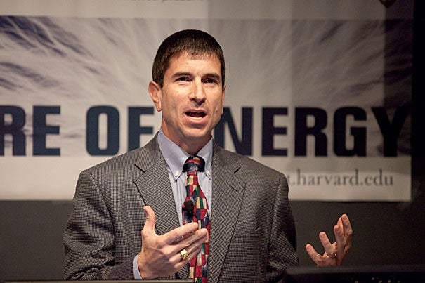 """I tend to think about these last few years as really taking solar technology from what I would refer to as a hobby stage to something that is a true industry,"" said Bruce Sohn, president of First Solar. Sohn was the first speaker in this spring semester's Future of Energy lecture series, sponsored by the Harvard University Center for the Environment."