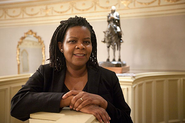 """In a talk at Radcliffe, Harvard's Annette Gordon-Reed discussed the plans for another volume of her award-winning work that will follow Sally Hemings and her descendants from 1830 through the early 20th century. Exploring history as well as social and cultural dynamics, Gordon-Reed said she was trying to """"re-create the world of Charlottesville and the Hemingses, and to go deeper than people had done up until this point."""""""