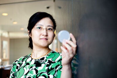 Harvard Assistant Professor of Biology Yun Zhang led a team of researchers on an effort to train thousands of roundworms in her lab to avoid pathogenic bacteria, Pseudomonas aeruginosa, that made them sick.