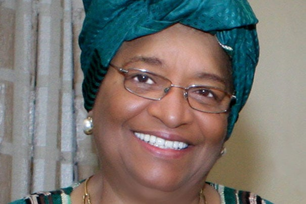 Liberian President Ellen Johnson Sirleaf, a Harvard Kennedy School alumna who has played a key role in stabilizing and reviving her nation, will be the principal speaker at Afternoon Exercises of Harvard University's 360th Commencement in May.