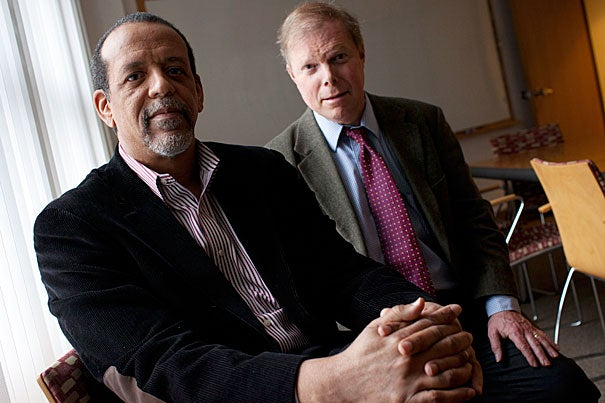 "Ron Ferguson (left) and Bill Symonds are two of the three Harvard analysts who authored ""Pathways to Prosperity,"" a new report that says high schools should offer alternatives that prepare students to enter the working world."