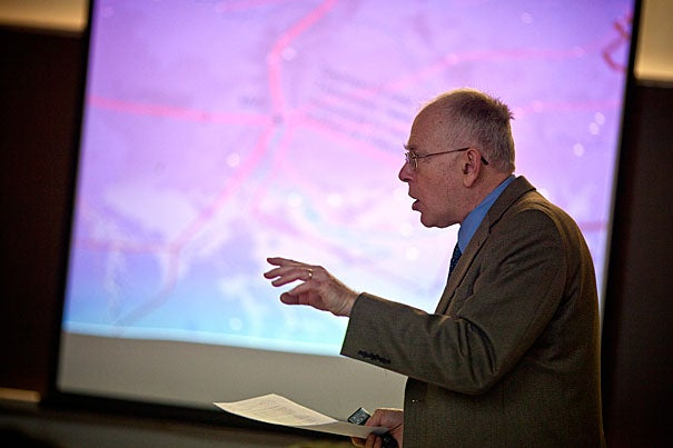 Professor Michael McCormick has collaborated with climate scientists in recent years, searching for witnesses to climate extremes gleaned from tree-ring date during the late Roman Empire.